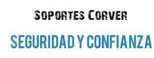 INSTALACIÓN DE SOPORTES PARA PANTALLA CORVER