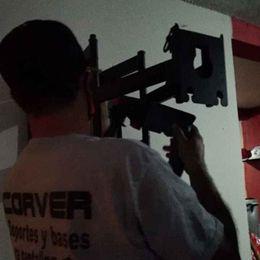 Instalación de Soporte Para Tv de